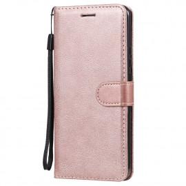 Book Case Xiaomi Redmi 9 Hoesje - Rose Gold