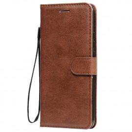 Book Case Xiaomi Redmi 9 Hoesje - Bruin