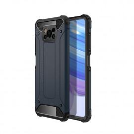 Armor Hybrid Xiaomi Poco X3 Hoesje - Donkerblauw
