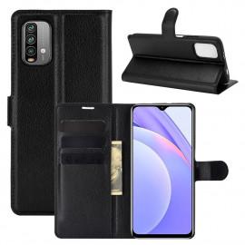 Book Case Xiaomi Redmi 9T Hoesje - Zwart