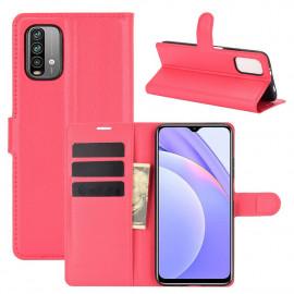 Book Case Xiaomi Redmi 9T Hoesje - Rood