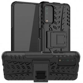Rugged Kickstand Xiaomi Redmi 9T Hoesje - Zwart