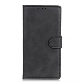 Luxe Book Case Samsung Galaxy A02s Hoesje - Zwart