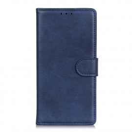 Luxe Book Case Samsung Galaxy A02s Hoesje - Blauw