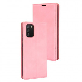 Premium Book Case Samsung Galaxy A02s Hoesje - Pink