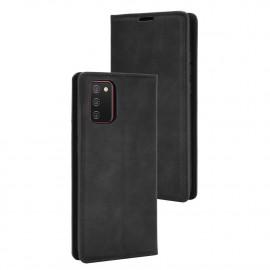 Premium Book Case Samsung Galaxy A02s Hoesje - Zwart