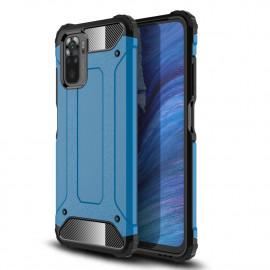 Armor Hybrid Xiaomi Redmi Note 10 4G Hoesje - Lichtblauw