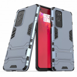 Armor Kickstand OnePlus 9 Pro Hoesje - Blauw