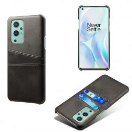 Dual Card Back Cover OnePlus 9 Pro Hoesje - Zwart