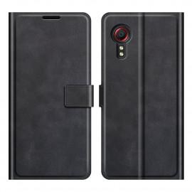 Book Case Deluxe Samsung Galaxy Xcover 5 Hoesje - Zwart