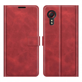 Book Case Deluxe Samsung Galaxy Xcover 5 Hoesje - Rood