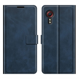 Book Case Deluxe Samsung Galaxy Xcover 5 Hoesje - Blauw