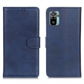Luxe Book Case Xiaomi Redmi Note 10 4G / 10S Hoesje - Blauw