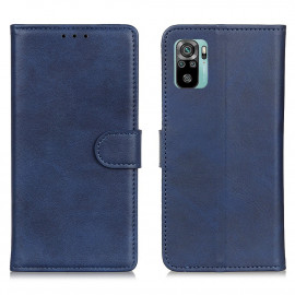 Luxe Book Case Xiaomi Redmi Note 10 4G Hoesje - Blauw