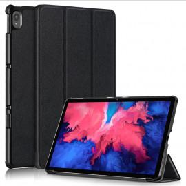 Tri-Fold Book Case Lenovo Tab P11 (Plus) Hoesje - Zwart