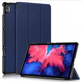 Tri-Fold Book Case Lenovo Tab P11 (Plus) Hoesje - Blauw