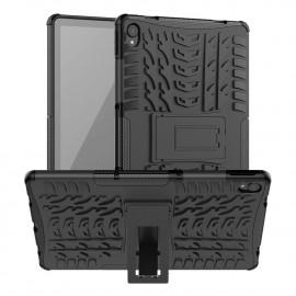 Rugged Kickstand Lenovo Tab P11 (Plus) Hoesje - Zwart