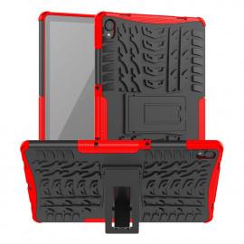 Rugged Kickstand Lenovo Tab P11 (Plus) Hoesje - Rood