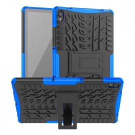 Rugged Kickstand Lenovo Tab P11 (Plus) Hoesje - Blauw