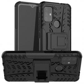 Rugged Kickstand Motorola Moto G10 / G20 / G30 Hoesje - Zwart