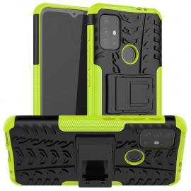 Rugged Kickstand Motorola Moto G10 / G20 / G30 Hoesje - Groen