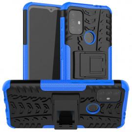 Rugged Kickstand Motorola Moto G10 / G20 / G30 Hoesje - Blauw