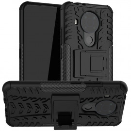 Rugged Kickstand Nokia 5.4 Hoesje - Zwart