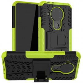 Rugged Kickstand Nokia 5.4 Hoesje - Groen