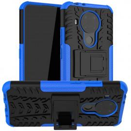 Rugged Kickstand Nokia 5.4 Hoesje - Blauw