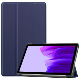 Tri-Fold Book Case Samsung Galaxy Tab A7 Lite Hoesje - Donkerblauw