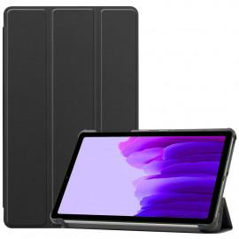 Tri-Fold Book Case Samsung Galaxy Tab A7 Lite Hoesje - Zwart