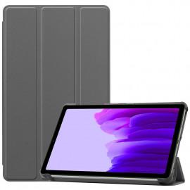 Tri-Fold Book Case Samsung Galaxy Tab A7 Lite Hoesje - Grijs
