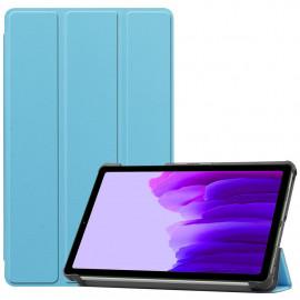 Tri-Fold Book Case Samsung Galaxy Tab A7 Lite Hoesje - Lichtblauw