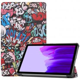 Tri-Fold Book Case Samsung Galaxy Tab A7 Lite Hoesje - Cartoon