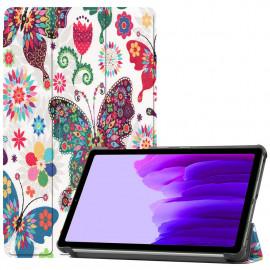Tri-Fold Book Case Samsung Galaxy Tab A7 Lite Hoesje - Vlinders