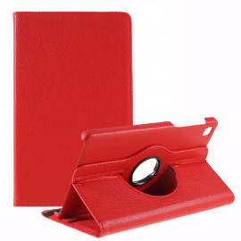 360 Rotating Case Samsung Galaxy Tab A7 Lite Hoesje - Rood