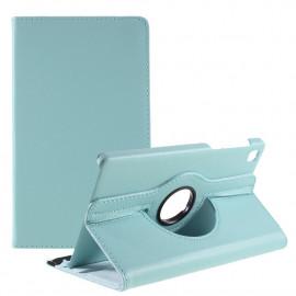 360 Rotating Case Samsung Galaxy Tab A7 Lite Hoesje - Lichtblauw