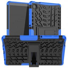 Rugged Kickstand Samsung Galaxy Tab A7 Lite Hoesje - Blauw