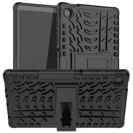 Rugged Kickstand Samsung Galaxy Tab A7 Lite Hoesje - Zwart