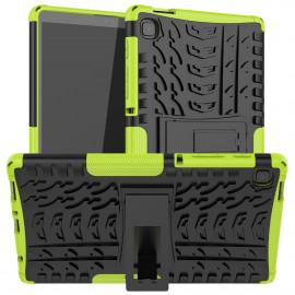 Rugged Kickstand Samsung Galaxy Tab A7 Lite Hoesje - Groen