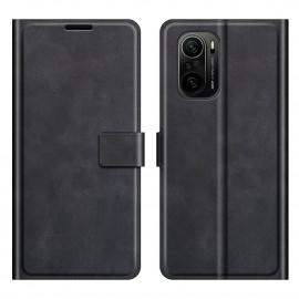 Book Case Deluxe Xiaomi Poco F3 Hoesje - Zwart