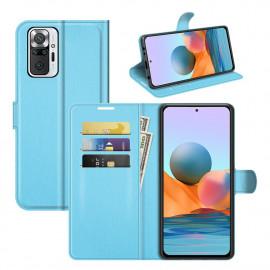 Book Case Xiaomi Redmi Note 10 Pro Hoesje - Lichtblauw