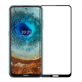 Full-Cover Tempered Glass Nokia X10 / X20 - Zwart