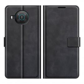 Book Case Deluxe Nokia X10 / X20 Hoesje - Zwart