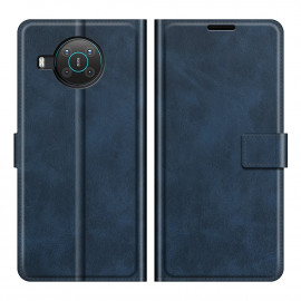 Book Case Deluxe Nokia X10 / X20 Hoesje - Blauw
