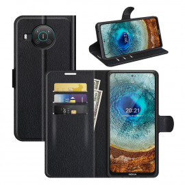 Book Case Nokia X10 / X20 Hoesje - Zwart