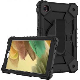 Heavy Duty Case Samsung Galaxy Tab A7 Lite Hoesje - Zwart