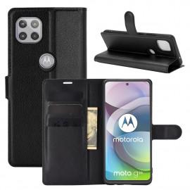 Book Case Motorola Moto G 5G Hoesje - Zwart