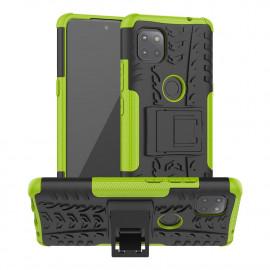 Rugged Kickstand Motorola Moto G 5G Hoesje - Groen