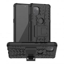 Rugged Kickstand Motorola Moto G 5G Hoesje - Zwart
